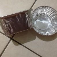 Cetakkan/ cetakan kue/ macaroni/ klapertart Aluminium foil mini