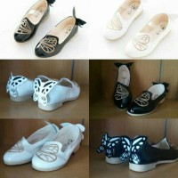 SHOES FLAT BUTTERFLY