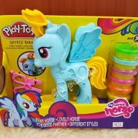 Mainan Playdoh merk Play-toy My little pony Blue