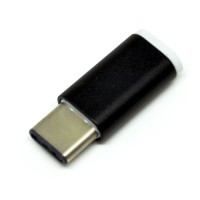 Micro USB To USB 3.1 Type C Adapter Converter - Aluminum Alloy Shell
