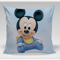 Bantal Sofa / dekorasi Disney -Baby Mic Laugh