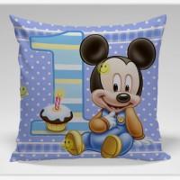 Bantal Sofa / dekorasi Disney -Baby Mic Birthday