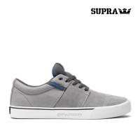 Supra Footwear - Stacks Vulc, Grey Blue White