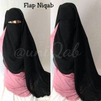 Cadar / Flap Niqab / Purdah Poni