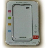 External Battery Back Case For Iphone 4g/4s 3000mah With Stand