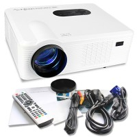 LED Projector Cheerlux CL720 with TV Tuner 1280x800 HD - 3000 Lumens