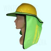 Safety Sunbrim Untuk Helm Safety (Pelindung panas untuk helm proyek)