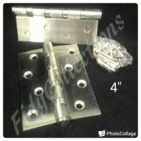 harga ENGSEL PINTU / JENDELA STAINLESS STEEL FOG SS304 UK. 4