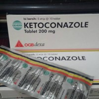 Ketoconazole tablet isi 50 tablet