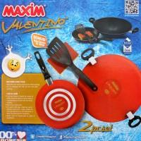 Jual Maxim Panci Set Valentino 2pcs Set (SKU:00253.00006) Murah