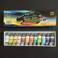 Cat Air Polar Guitar Water Color Set 12 Warna