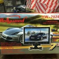 harga TV / MONITOR MOBIL ONDASH HOLLYWOOD HW-7028A LAYAR 7 INCH Tokopedia.com