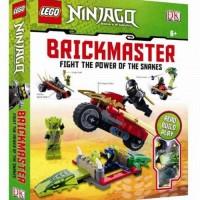 Lego Book DK Brickmaster Hardcover Ninjago Fight the Power Snakes Buku