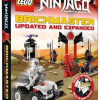 Lego Book DK Brickmaster Ninjago Updated and Expanded Hardcover Buku
