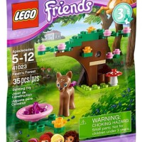 Lego Polybag Fawn's Forest 41023 Friends Animal Series 3 Girl Deer