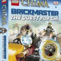 Lego Book Brickmaster Legends Chima Hardcover DK Buku Full Color Buku