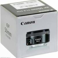 harga NEW Lensa Canon Fix 50mm / 50 mm f1.8 - f/1.8 STM GARANSI 1 TAHUN Tokopedia.com