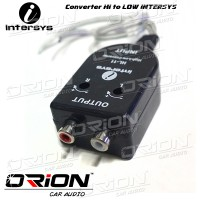 Adaptor Rca Hi To Low Intersys [Orion Car Audio]