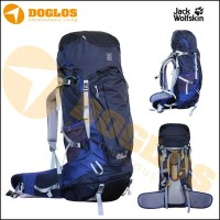 harga Jack Wolfskin HIGHLAND TRAIL XT 60 Tas gunung Carrier jws Hiking Navy Tokopedia.com