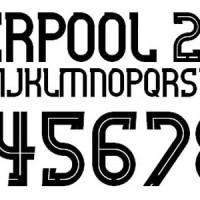 Custom Name Polyflex (Font Liverpool 2015)