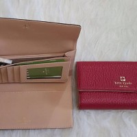JUAL DOMPET KATE SPADE RED TB ORIGINAL ASLI