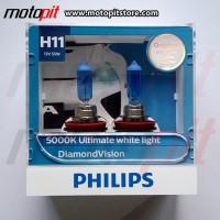 Philips Diamond Vision H11 Putih 5000K