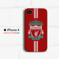 Liverpool FC Logo IDC 5 iPhone 4 4S Custom Hard Case
