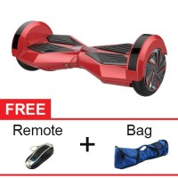 "Onix Hoverboard Segway 8"" Two Wheel Balance Smart Scooter - Red"