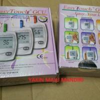 GCU Easy Touch 3 in 1 / Alat Tes Gula Darah / Kolestrol / Asam Urat