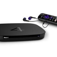 Roku 4 Streaming Media Player 4K Ultra HD UHD (BARU)