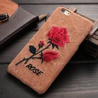 Samsung Galaxy S6 Edge Plus Case backcase bunga mawar Luxury Rose