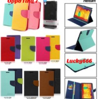 Wallet mercury oppo find 7 x707 / case mercury oppo find seven