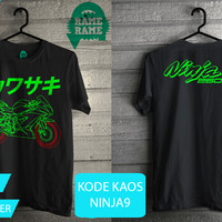 Kaos Motor Kawasaki Ninja 250 Mono
