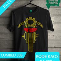 harga Kaos Motor Cafe Racer Tokopedia.com