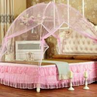 Kelambu Tempat Tidur Jaring Anti Nyamuk 120 X 200 Cm Elegan