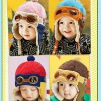harga Topi Bayi Pilot / Baby Pilot Hat Korean Tokopedia.com