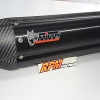 Knalpot Slip on merk MIVV Suono Black Kawasaki Z800