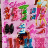 harga Mainan sepatu boneka Barbie Tokopedia.com