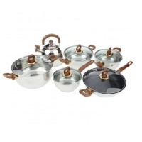 harga Panci set Trisonic - Stainless steel - 12 pcs Tokopedia.com