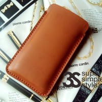 Leather case pouch Infinix Hot Note X551 ( Sarung HP 5,5 Inch )