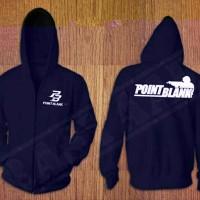 baju jaket hoodie zipper hitam