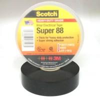 3M Scotch Super 88 Vinyl Electrical Tape - Isolasi Listrik 3/4 Inch