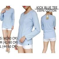 Baju Branded Wanita - Kickers Blue Tee