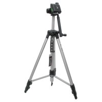 Weifeng Aluminium Tripod Photo & Video With 3-Way Head - W-350