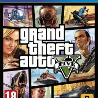 KASET PS4 - GRAND THEFT AUTO V (GTA 5)