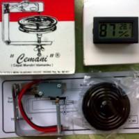 Paket Thermostat plus Higrometer/thermometer Digital
