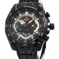 Jam Tangan Swiss Army SA 8709 Black Original