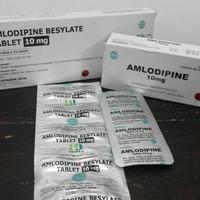 Amlodipine 10mg Hexpharm Jaya Dan Medikon Obat Tekanan Darah Tinggi