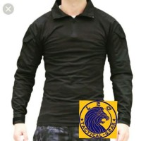 Combat shirt - Hitam
