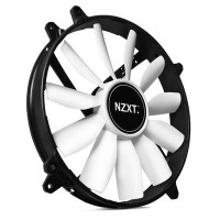 NZXT FZ-200 - 20CM Fan - 1200RPM - 11 Blade - Sleeved Cable